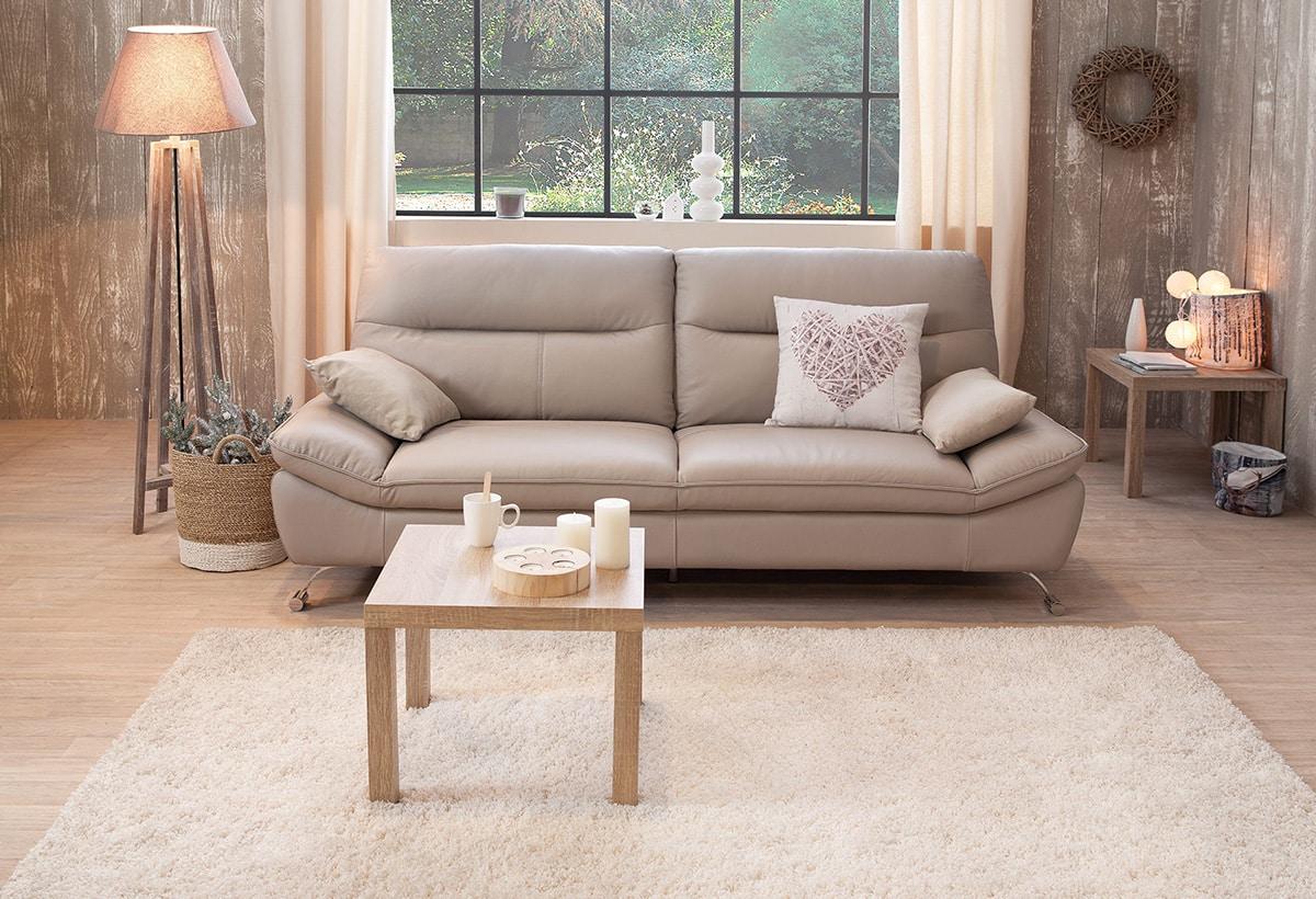 Quelle couleur associer avec un canapé beige ?